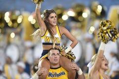2015 fútbol del NCAA - GA @ WVU meridional Foto de archivo