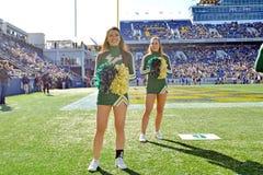 2015 fútbol del NCAA - la Florida del sur en la marina de guerra Foto de archivo