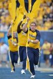 2015 fútbol del NCAA - Maryland @ WVU Foto de archivo libre de regalías