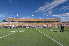 2015 fútbol del NCAA - Maryland @ WVU Fotos de archivo