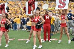 2015 fútbol del NCAA - Maryland @ WVU Fotografía de archivo libre de regalías