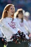 2015 fútbol del NCAA - Memphis en el templo Imagen de archivo libre de regalías
