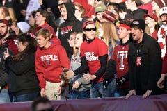 2015 fútbol del NCAA - Memphis en el templo Imagenes de archivo