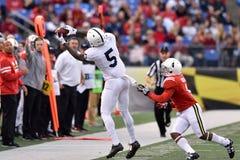 2015 fútbol del NCAA - Penn State contra maryland Fotos de archivo libres de regalías