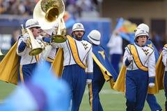 2014 fútbol del NCAA - TCU-WVU Fotografía de archivo libre de regalías