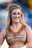 2014 fútbol del NCAA - WVU-Oklahoma Imágenes de archivo libres de regalías
