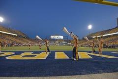2014 fútbol del NCAA - WVU-Oklahoma Fotografía de archivo