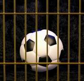 Fútbol en la jaula dorada, ejemplo 3d libre illustration