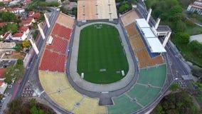 Fútbol en todo el mundo, sao Paulo Brazil del estadio de Pacaembu