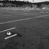 Fútbol/fútbol sea cual sea usted quiere para llamarlo Imágenes de archivo libres de regalías