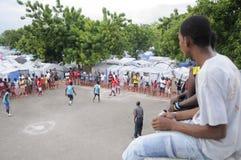 Fútbol haitiano. Fotografía de archivo