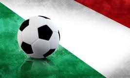 Fútbol italiano stock de ilustración