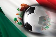 Fútbol mexicano Imágenes de archivo libres de regalías