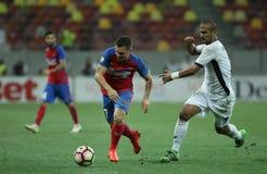 """Fútbol Romania's Liga 1†""""Steaua Bucuresti contra ASTRA GIURGIU Imagenes de archivo"""