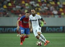 "Fútbol Romania's Liga 1†""Steaua Bucuresti contra ASTRA GIURGIU Foto de archivo libre de regalías"