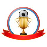 Fútbol Rusia del fondo del campeonato del fútbol libre illustration