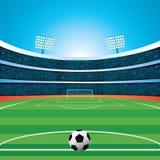 fútbol stadium Foto de archivo libre de regalías