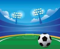 fútbol stadium Fotografía de archivo libre de regalías