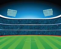 fútbol stadium Imagen de archivo libre de regalías