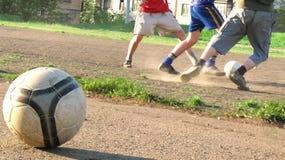 Fútbol verdadero imagenes de archivo