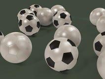 Fútboles Fotografía de archivo