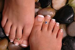 Füße Stockbild