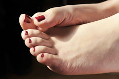 Füße Lizenzfreies Stockbild