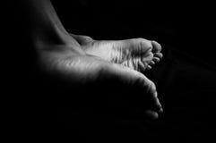 füße Stockfoto