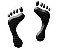 Füße. Stockfoto