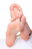 Füße der Männer Lizenzfreies Stockfoto