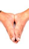 Füße der Männer Lizenzfreie Stockbilder
