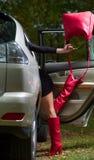 Füße Mädchen Lizenzfreies Stockfoto