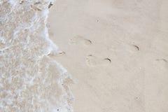 Füße Markierungen Lizenzfreies Stockbild