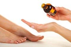 Füße Massage- Lizenzfreie Stockfotografie
