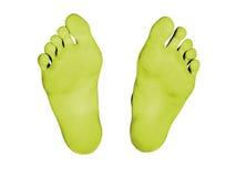 Füße trennten Lizenzfreie Stockfotografie