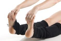 Füße und Hände lizenzfreie stockfotos