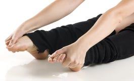 Füße und Hände Stockfotos