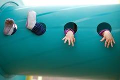 Füße und Hände Stockfoto
