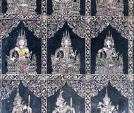 Füße von stützendem Buddha, Bangkok Lizenzfreie Stockfotos