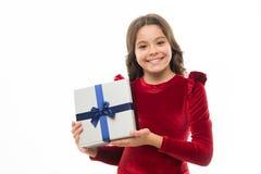 Fühlen Sie sich so dankbar Geburtstagsmädchen tragen anwesendes mit Bandbogen Kunst der Herstellung von Geschenken Alles Gute zum lizenzfreie stockfotos