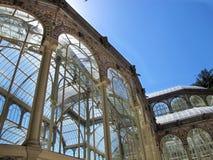 Führen Sie den Kristallpalast von EL Retiro Madrid einzeln auf Lizenzfreie Stockbilder