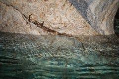 Führen Sie die Marmorkathedralenkapelle, Capillas De Marmol, entlang Ca einzeln auf lizenzfreies stockbild