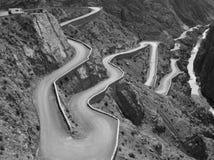 Führen Sie Gorges du Dades, Marokko lizenzfreie stockfotografie