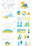 Führen Sie Infographik Abbildung einzeln auf Lizenzfreie Stockfotos