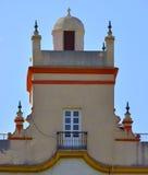 Führen Sie nach Hause von den fünf Türmen, Spanien-Quadrat, Cadiz einzeln auf Stockfoto