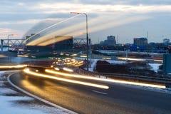Führen von LKW Stockbilder
