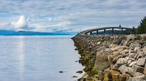 Führende Brücke Stockfotografie