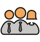 Führer Isolated Vector Icons, der leicht geändert werden oder redigieren kann vektor abbildung