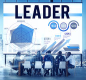 Führer-Leadership Business Meeting-Konzept lizenzfreie abbildung