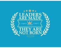 Führer sind gemacht sie werden getragen nicht lizenzfreie abbildung